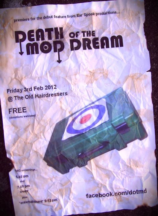 Death Of The Mod Dream premiere poster