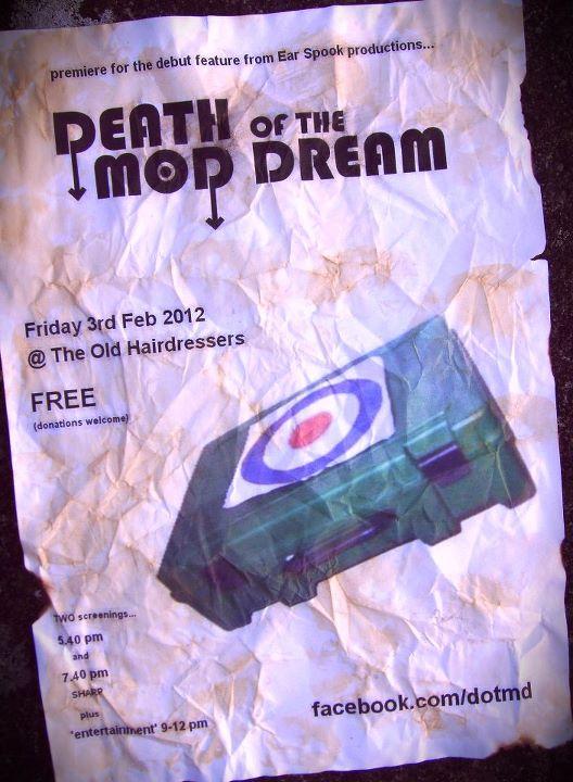 Death Of The Mod Dream premiere poster